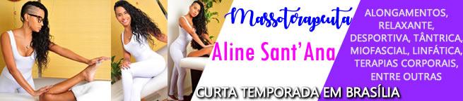 Massoterapeuta Aline