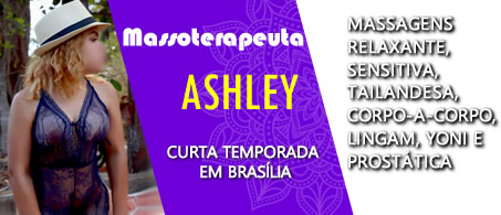 Massoterapeuta Ashley
