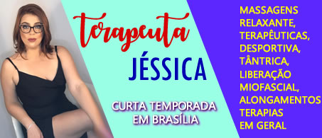 Massoterapeuta Jéssica