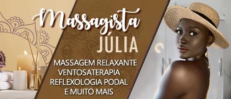 Massagista Júlia